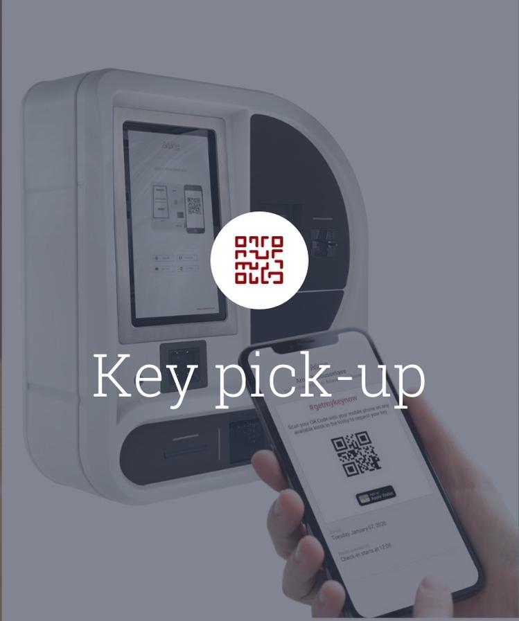 flip box key pick-up