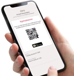 check-in QR code